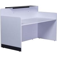 Rapid Span Reception Counter Brilliant White 1800x800mm