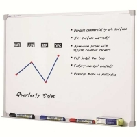 Penrite Premium Magnetic Whiteboard QTPWP361 3600x1200mm