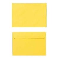 Quill Envelope 80gsm C6 114x162 Pack 25 - Lemon