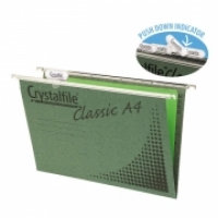 Crystalfile Suspension Files A4 Pack20 including tabs & inserts