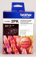 Brother Ink Cartridge LC73BK2PK Black Twin Pack