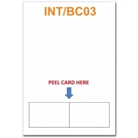 Integrated Business Cards INT/BC03 PK100 -Double Side