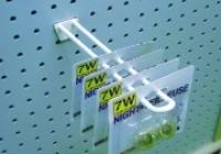 Deflecto Pegboard Hook Fibre Glass Reinforced 100mm White 1057DW