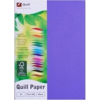 Quill Coloured Paper A4 80gsm Pack 500 - Lilac