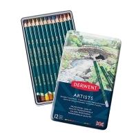 Derwent Artist Pencils 12 Tin Assorted R32081