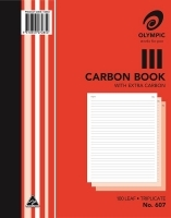 Carbon Book Triplicate 250x200 100LF Olympic 607