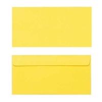 Quill Envelope 80gsm DL 110x220 Pack 25 - Lemon