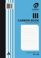 Carbon Book Duplicate A4 100LF Olympic 602