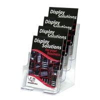 Deflecto Brochure Holder A5 4Tier 77901
