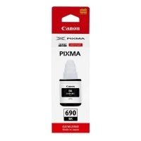 Canon GI690BK Black Ink Bottle 6K - 6000 pages