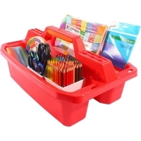 Brenex 20223 Plastic Tote Tray Large 50cm Red
