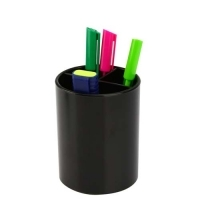 Italplast Pen & Pencil Cup Holder Large 1414 Black
