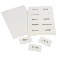 Rexel Replacement Convention Name Cards A4 Sheet 90055