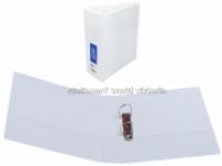 Bantex Insert Binder A5 2D 25mm (200page) White BX25