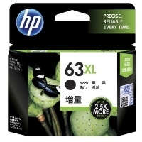 HP Ink Cartridge 63XL F6U64AA Black