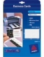 Avery Quick Clean Business Cards C32096 Inkjet Matt Linen 250gsm