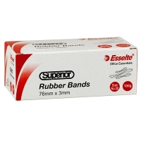 Superior Rubber Bands 100gm Size 18 ( 76 x 1.5mm )