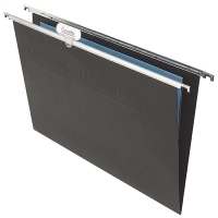 Crystalfile Suspension Files Heavy Duty Foolscap BX10 Black