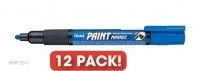 Pentel MMP20-C Paint Marker Blue BX12