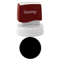 iSTAMP Pre-Inked Laser Stamp is53 (round) 40mm