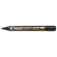Pilot SCA-400 Chisel-Tip Marker BX12 Black