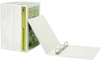 Marbig Enviro Insert Binder A4 3D 50mm (400page) White