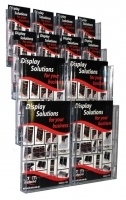 Deflecto Brochure Holder Lit-Loc Wall Display A4 x4 & DL x8
