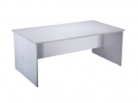 Rapid Vibe Open Desk 900x600mm Light Grey