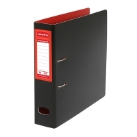 Colourhide Mighty A4 PP Lever Arch File BX6 Red/Black