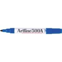Artline Whiteboard Marker 500A Bullet Blue