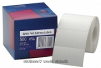 Avery Address Label Roll BX500 63x36 White 937103