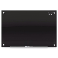 Quartet infinity Magnetic Glass Board Black 1810x1220