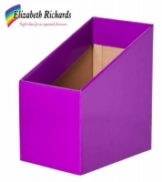 Elizabeth Richards Book Box (Pack of 5) Purple