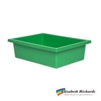 Elizabeth Richards Plastic Tote Tray Green