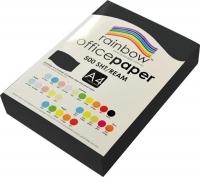 Rainbow Colour Copy Paper A4 80gsm Black (ream-500sheets)