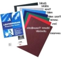 GBC IBICO BINDING COVERS A4 Leathergrain PK25 Black