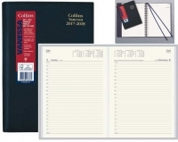Vanessa 2020-2021 Financial Year Diary FY145 A4 1Day Black