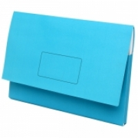 Marbig Slimpick Document Wallet Manilla A3 4005501 BLUE