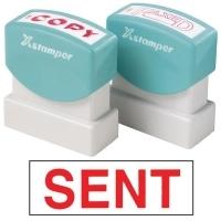 XSTAMPER STAMP - Sent (Red) 1567 (5015672)