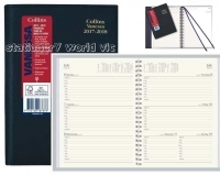 Vanessa 2021-2022 Financial Year Diary FY385 A5 Week Open Black