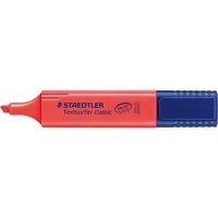 STAEDTLER TEXTSURFER CLASSIC 364-2 HIGHLIGHTER Red BX10
