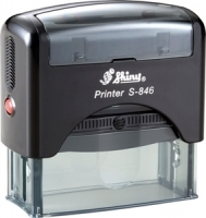 Shiny Self-Inking Stamp S846 63x25mm
