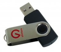 SHINTARO USB Rotating Pocket Disk Drive 2.0 64GB