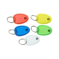 Marbig Key Tags - PKT10 Individual Colours