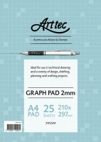Arttec Graph Pad A4 2mm Bond 25sheet GBPA36A