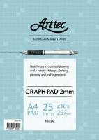 Arttec Graph Pad A4 2mm Bond 25sheet GBPA36A