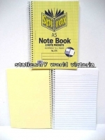 Spirax Notebook 570 A5 200page SideOpen