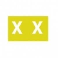 Avery Coding Label Alpha PK180 43324 (X) 25x38mm Mustard