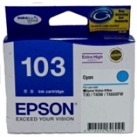 Epson Ink Cartridge 103 Cyan Extra High Capacity