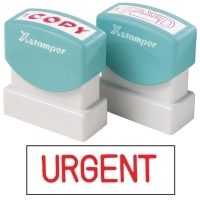 XSTAMPER STAMP - Urgent (Red) 1103 (5011030)
